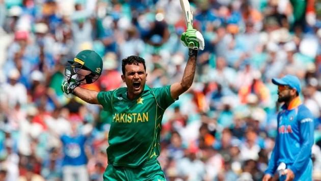 """च्याम्पियन्सशिप ट्रफी""१०  बर्ष पछी बद्ला चुकायो पाकिस्तानले, भारत १८० रन ले पराजित"