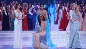 भारतकी मानुषी बनिन् मिस वर्ल्ड २०१७